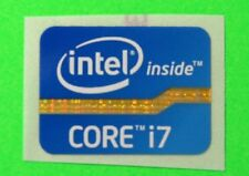 New Intel CORE i7 Graphic by Intel CORE i7 Sticker Label Replacement