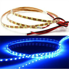 1pc Blue Car Decor Strip Light Bright 90leds 90cm 3528 SMD LED Casing Waterproof