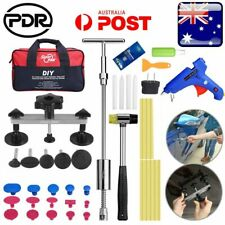 Paintless Dent Removal Repair Puller PDR Tools Slide Hammer T Bar Glue Gun Kits