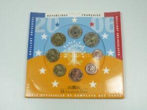 *** EURO KMS FRANKREICH 2006 BU Kursmünzensatz France Coin Set Münzen ***