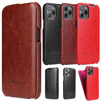 For iPhone 12 11 Pro MAX 8 Plus Luxury Leather Wallet Stand Thin Slim Case Cover