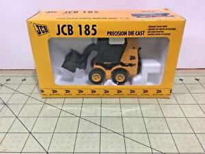 Vintage Die cast 1:35 JCB 185 Robot skid loader by Joal, FREE shipping