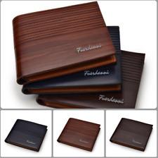 Men's Fashion Leather Wallet Pocket Bifold Purse Clutch ID Credit Card Billfold