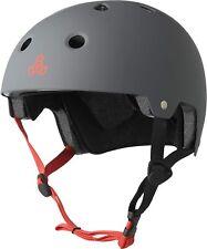 Triple 8 Brainsaver EPS Unisex Rubber Helmet Gun Grey Mat Size L/XL 59-61cm