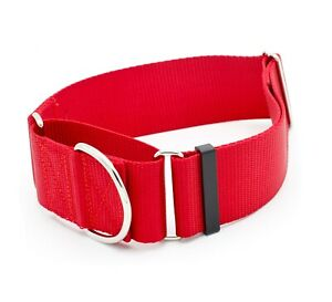"2 Inch Width Martingale No Slip Dog Collars - Heavy Duty 2"" Width Dog Collars"