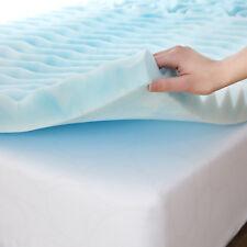 "3"" Inch Full Size Orthopedic 5-Zone Foam Mattress Topper Mattress Upgrade pad"