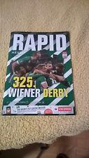 Magazin Rapid Wien Programm Austria Wien Fussball 2018 Programmheft Rapid FAK