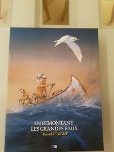 Coffret Patrick Prugne En Remontant Les grandes eaux DM Edition