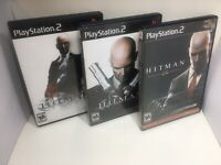 Hitman Trilogy Playstation 2 - Blood Money, Contracts, Silent Assassin -3-games