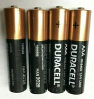 100 x AAA Duracell Copper Top Alkaline Battery 1.5 V-2028 USA 10 Year Storage