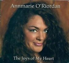 ANNMARIE O RIORDAN THE JOYS OF MY HEART (CD 2012) Irish Folk Music