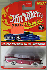 Hot Wheels 1:64 Scale HW Classics Series 2 1957 CHEVY BEL AIR CONV. (PINK)