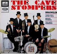 THE CAVE STOMPERS donauwellen/yaaka hula hickey dula/broken promises EP 1966 VG+