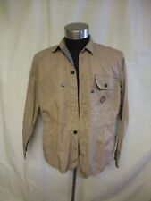 Mens Jacket Paul Smith beige cotton XL, casual, safari, multiple pockets 0832