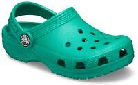 Crocs Kids Kids Classic Slip On Clog Deep Green