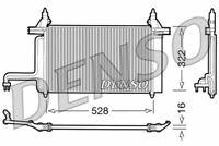 Denso Air Conditionné Condenseur Pour Fiat Stilo Hayon 1.4 70KW