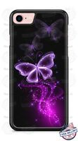 Purple Butterfly Pink Pixie Dust Phone Case Cover for iPhone Samsung LG etc.