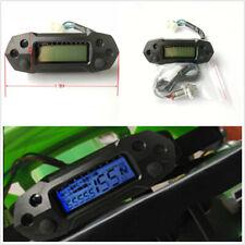 Motorcycle Bike LCD Digital Speedometer Odemeter Carburetor Meter Tachometer 12V