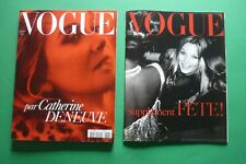 VOGUE PARIS DECEMBRE 843/2003 PAR CATHERINE DENEUVE MARIO TESTINO + SUPPLEMENT