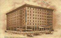 Hotel Manx San Francisco California 1907 Postcard