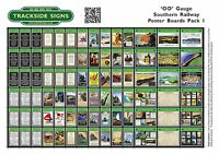 Southern Railway SR - Model Railway - Poster Sheets - A5 - OO Gauge 4mm
