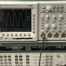 Tektronix Tds3014 Color Digital Phosphor Oscilloscope 100mhz 4 Channel Tested