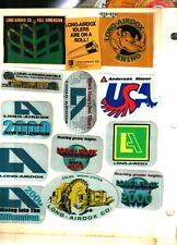 13 DIFFERENT NICE LONG AIRDOX COAL MINING STICKERS # 72