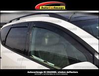Window visors, rain guards, vent visor for HYUNDAI VELOSTER 2012 2013 IN CHANNEL