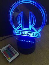 Mopar Led Light Sign Multi Color Display (big 8x6�) U.S.A
