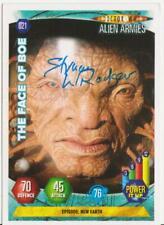 RARE: Struan Rodger (Face of Boe) signed card. Doctor Who. %2CharityDo!
