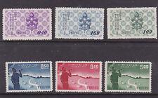 taiwan 1957,59 Sc 1165/7,1232/4,boy scout,two sets      m318