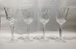 Wedgwood Crystal Tall Wine Glasses - Set of 4