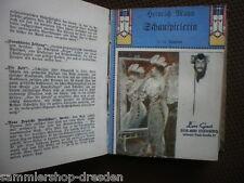 LI17 Heinrich Mann EA Schauspielerin Bibliothek berühmter Autoren  Band 11