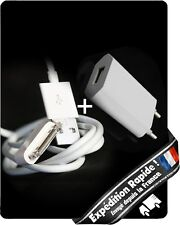 Chargeur USB prise secteur murale (30 broches) pour [Iphone 4,4S,3G] Ipad,Ipod