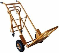 250/300 Kg 3-in-1 Heavy Duty Sack Truck Trolley Barrow NEW CT4187