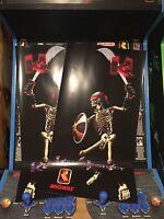 Killer Instinct Arcade Conversion Side Art Artwork KI Overlay Decal Sticker CPO