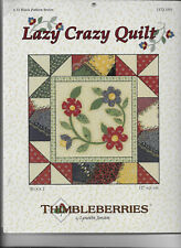 Lazy Crazy Quilt Thimbleberries 12 Block Pattern Series Lynette Jensen Complete