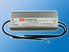 Mean Well LED Schaltnetzteil 12VDC | 22A | 264W | HLG-320H-12B | IP67 | Dimmbar