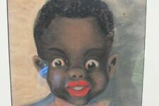 Black Americana Painting by J Meyer Young Black Boy with Bow Tie