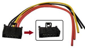 Cable + broche pr Resistance Chauffage PEUGEOT 206 307 Citroen C3 Xsara picasso