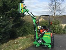 Hedge Cutter - reach mower / flail mower for tractors - Frontoni Butterfly 250