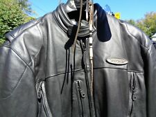HARLEY DAVIDSON LEATHER JACKET FXRG LARGE TALL