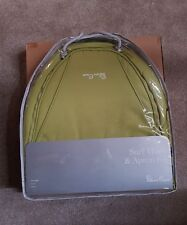 BRAND NEW SILVER CROSS SURF 2  HOOD APRON / FOOTMUFF NEW COLOUR PACK LIME GREEN