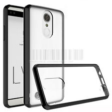 Slim Shockproof Hybrid Clear Rubber Phone Case Cover For LG Aristo LV3 MS210