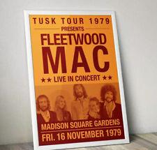 Fleetwood Mac Concert Poster, Fleetwood Mac Print, Fleetwood Mac Gig Poster