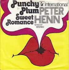 7 45 Peter Henn - Punchy Plum RARE Jack White Prod. Single Moog RARE