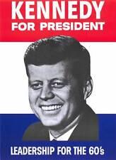 KENNEDY FOR PRESIDENT Movie MINI Promo POSTER John F. Kennedy