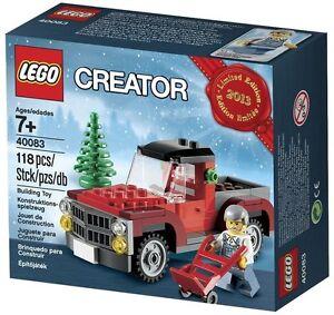 LEGO 40083 Weihnachtsset 2013 Weihnachtsbaumtransporter -Limtiert +neu und ovp+