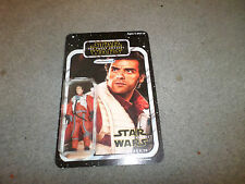 STAR WARS THE FORCE AWAKENS CUSTOM CARD POE DAMERON FIGURE