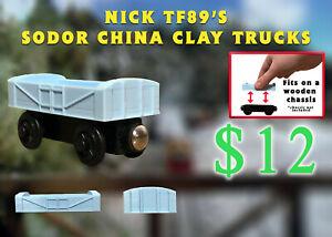 Custom Clay Truck Thomas Wooden Railway